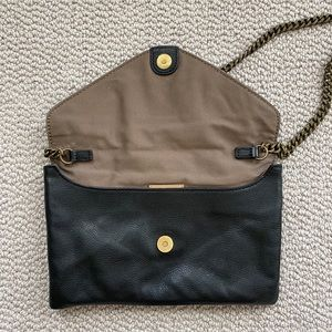 J. Crew leather clutch